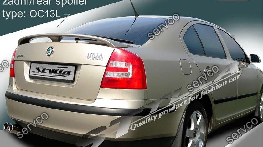Eleron prelungire portbagaj tuning sport Skoda Octavia 2 RS Vrs Sedan Hatchback 2004-2013 v6