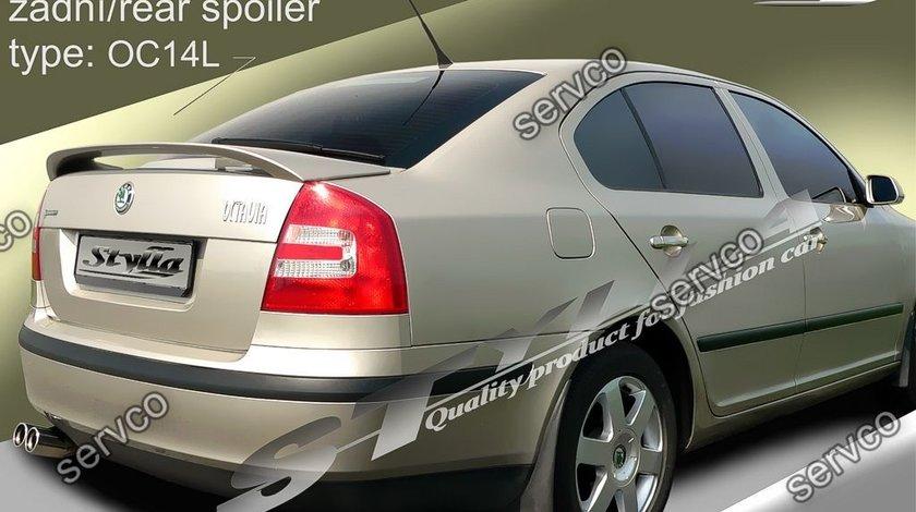 Eleron prelungire portbagaj tuning sport Skoda Octavia 2 RS Vrs Sedan Hatchback 2004-2013 v5