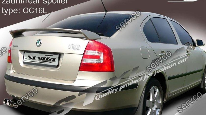 Eleron prelungire portbagaj tuning sport Skoda Octavia 2 RS Vrs Sedan Hatchback 2004-2013 v8