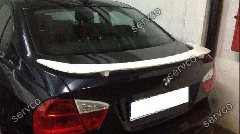 Eleron prelungire spoiler portbagaj tuning sport BMW E90 Seria 3 Hamann 2005-2012 v3
