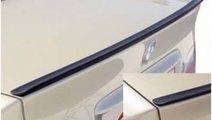 Eleron slim BMW E39 cauciuc Negru