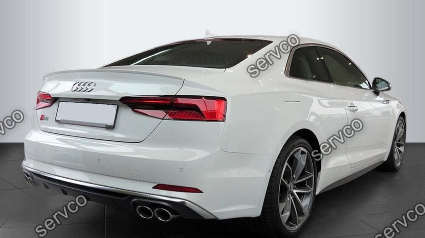 Eleron spoiler adaos Audi A5 F5 8W8 Coupe Sline S5 RS5 2016-2019 v1