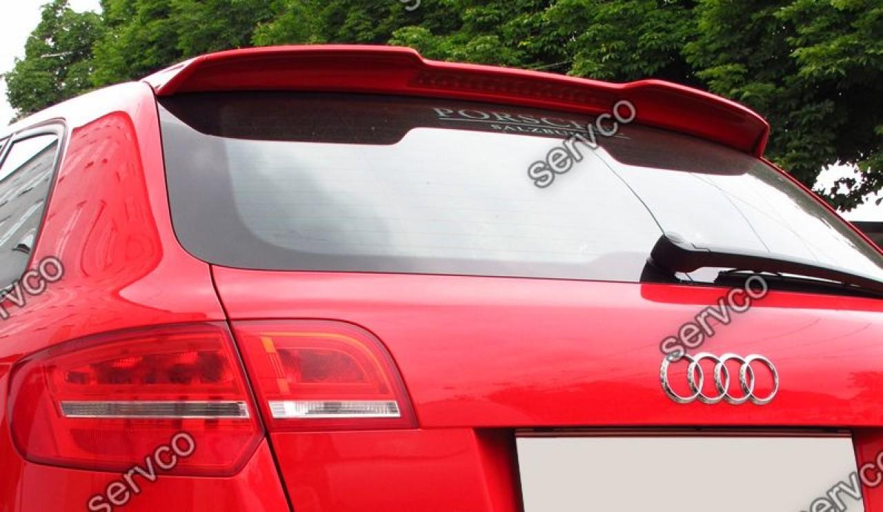 Eleron spoiler Audi A3 8P Sportback RS3 S3 Sline 2005-2012 v2