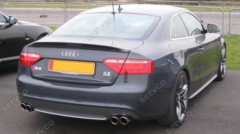 Eleron spoiler Audi A5 Coupe 8T 8T3 S5 Sline Caractere ver. 2