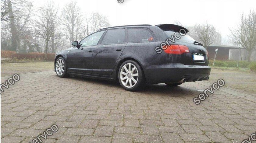 Eleron spoiler Audi A6 C6 4F Avant S6 RS6 S line 2004-2008 v2