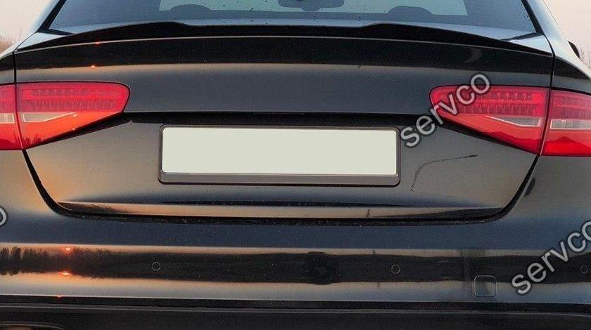 Eleron spoiler cap Audi A4 S4 B8 Facelift 2012-2014 v3
