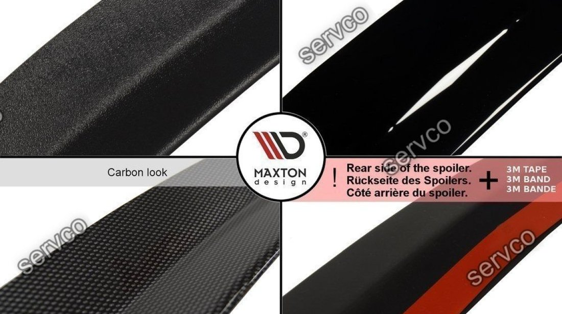 Eleron spoiler cap Mercedes C Class W204 Estate Facelift 2010-2015 v1