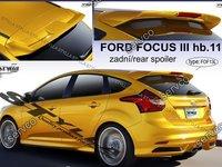 Eleron spoiler haion Ford Focus Mk3 ST ST Zetec S Titanium X Trend Studio Style RS 2011-2017 v2