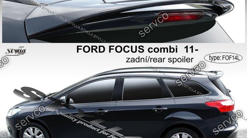 Eleron spoiler haion Ford Focus Mk3 Wagon Turnier 2011-2017 ver1
