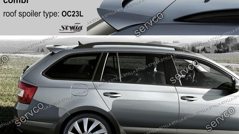 Eleron spoiler haion luneta Skoda Octavia 3 5E Estate Combi Kombi Break 2013-2017 ver1