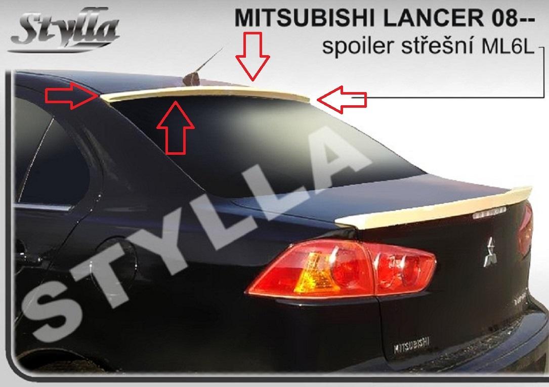 Eleron spoiler luneta Mitsubishi Lancer GTS Evo X CY2A CZ4A ver3