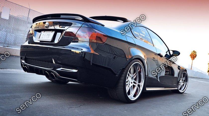 Eleron spoiler portbagaj tuning sport BMW E92 H style Hamann 2006-2012 v3
