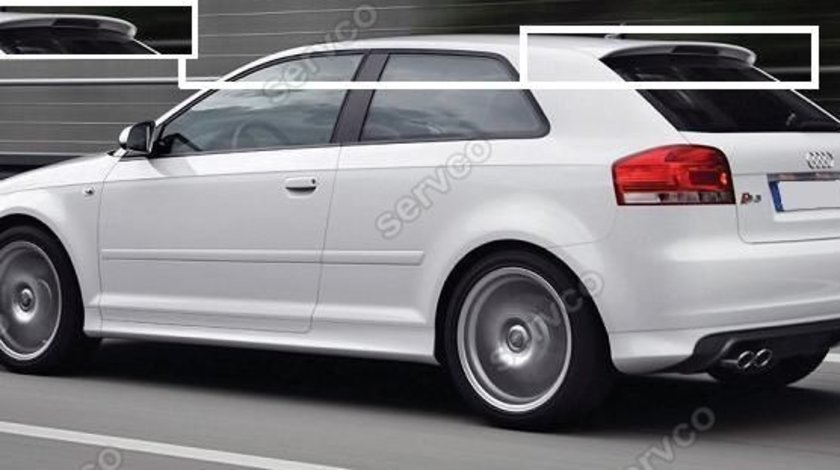 Eleron spoiler tuning Audi A3 8P S3 Coupe Sline RS3 ver1