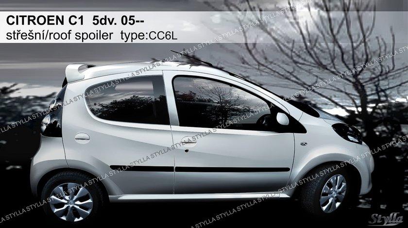 Eleron spoiler tuning sport Citroen C1 Gti Vti Hatchback 2005-2014 ver2
