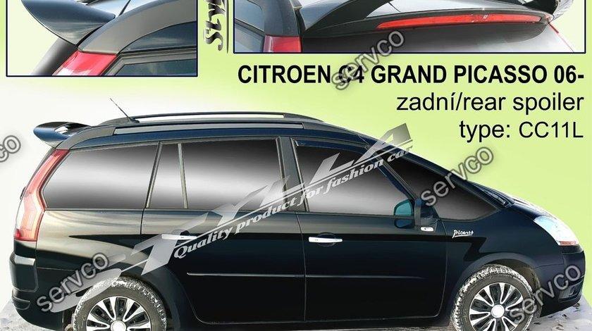 Eleron spoiler tuning sport Citroen C4 Grand Piccaso VTS Vti Vts 2006-2014 ver4