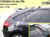 Eleron spoiler tuning sport Citroen C4 hatchback HB Vti Vts Vtr Gti 2004-2011 ver2