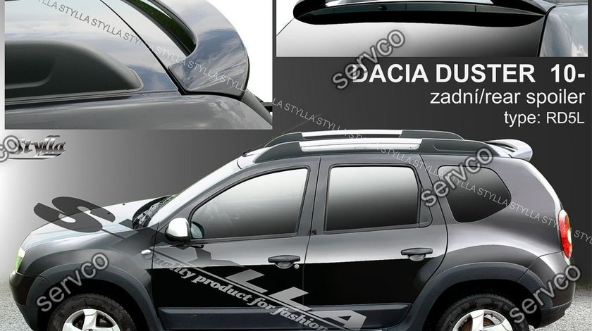 Eleron spoiler tuning sport Dacia Duster Urban Explorer 2010-2018 ver1
