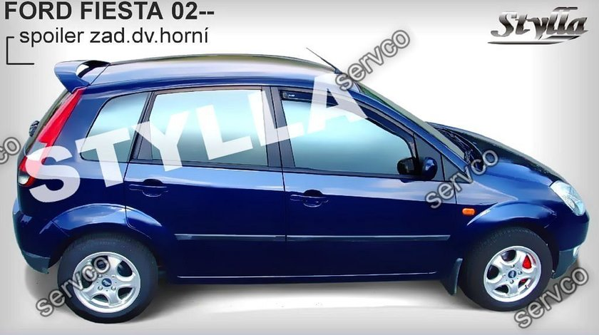 Eleron spoiler tuning sport Ford Fiesta Mk6 ST Zetec S RS Ghia XR4 2002-2008 ver2