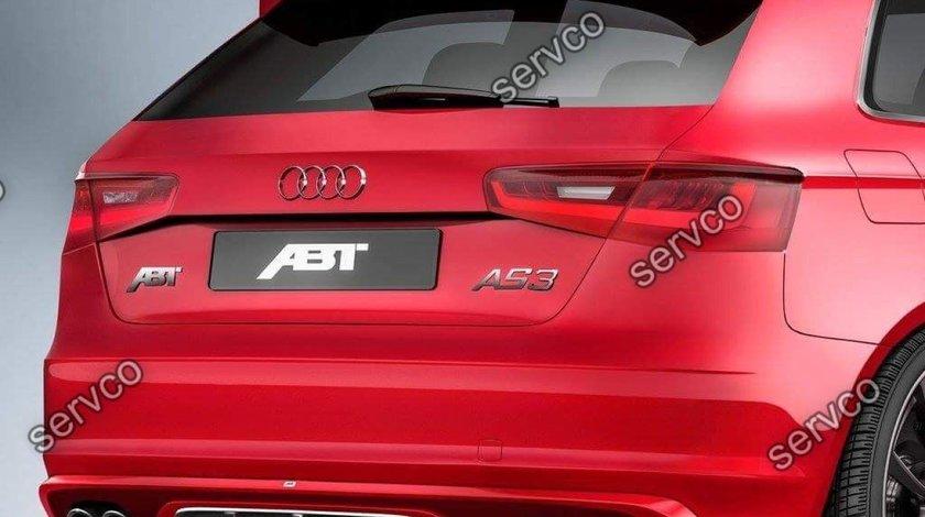 Eleron spoiler tuning sport haion luneta Audi A3 8V Sportback S3 Rs3 ABT 2012-2019 ver3