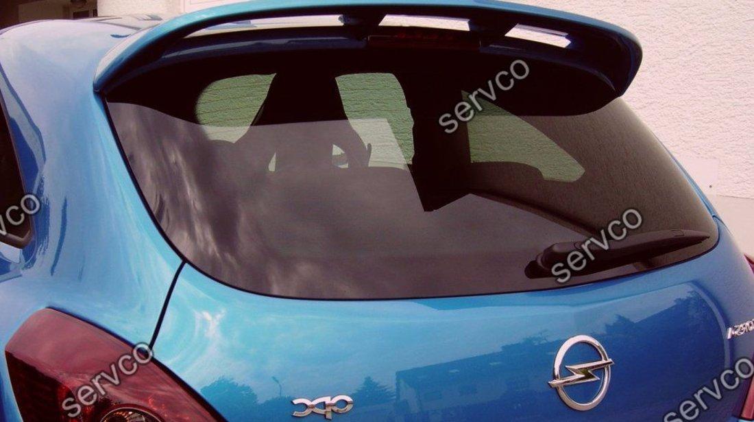 Eleron spoiler tuning sport Opel Corsa D Coupe OPC line VXR Nurburgring Edition 2007-2011 ver1