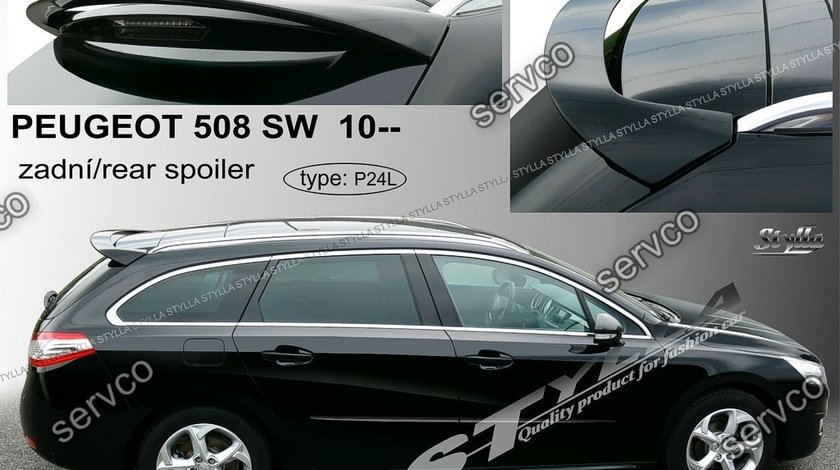 Eleron spoiler tuning sport Peugeot SW Stree Wagon Touring 508 Gti Vti 2010-2018 ver2