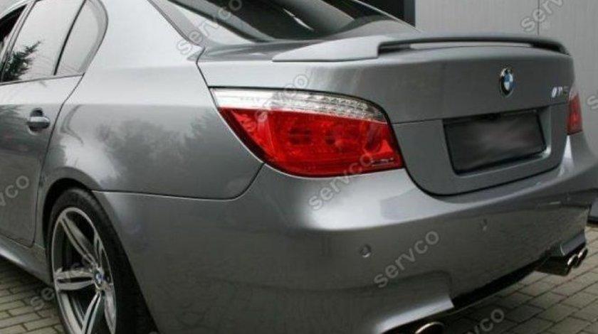 Eleron spoiler tuning sport portbagaj BMW E60 Seria 5 M5 Performance Mtech ver3