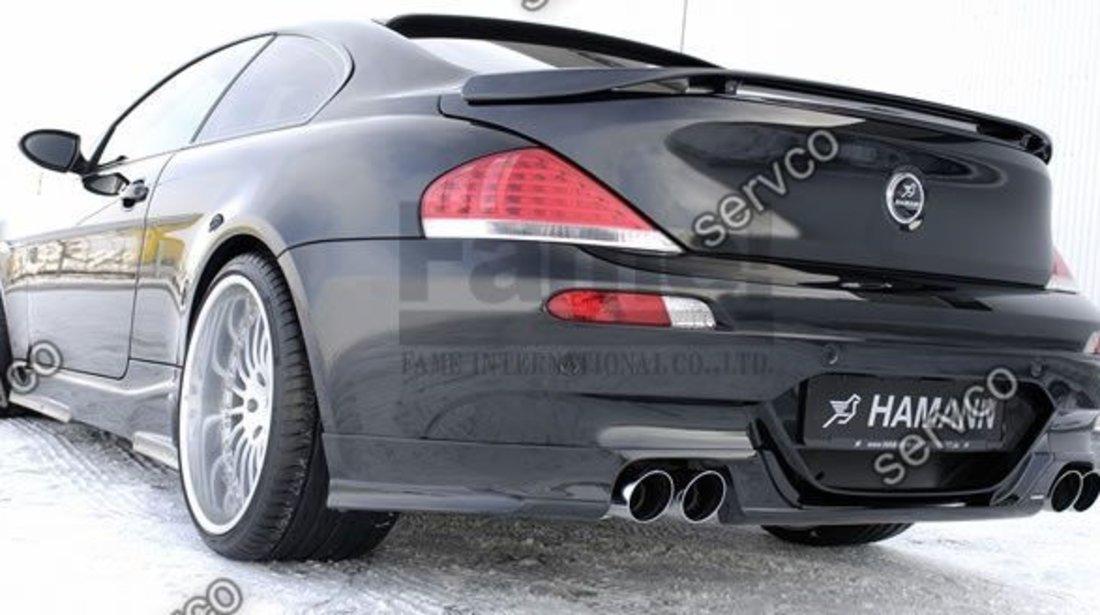 Eleron spoiler tuning sport portbagaj BMW Seria 6 E63 E64 Hamann Mpack Aero 2003-2010 ver1