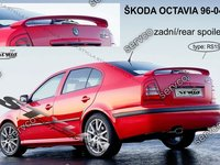Eleron spoiler tuning sport portbagaj Skoda Octavia 1 Mk1 1U WRC RS Vrs 1996-2006 ver15