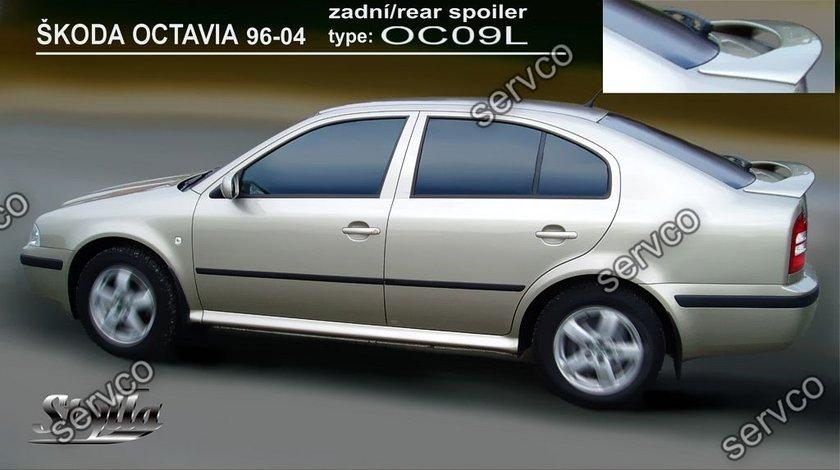 Eleron spoiler tuning sport portbagaj Skoda Octavia 1 Mk1 1U WRC RS Vrs 1996-2006 ver9