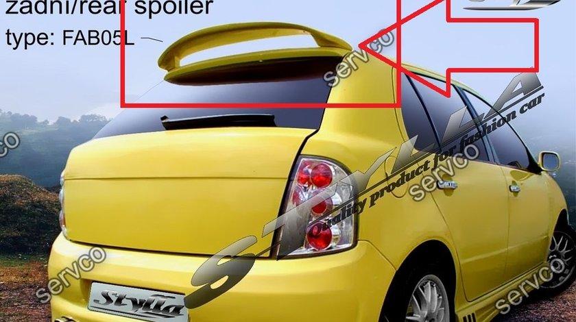 Eleron spoiler tuning sport Skoda Fabia Hatchback HB VRS Mk1 6Y 1999–2007 ver7