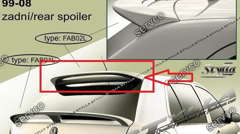 Eleron spoiler tuning sport Skoda Fabia Hatchback HB VRS Mk1 6Y 1999–2007 ver5