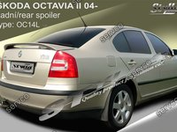Eleron spoiler tuning sport Skoda Octavia 2 RS Vrs Sedan Hatchback 2004-2013 ver5