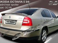 Eleron spoiler tuning sport Skoda Octavia 2 RS Vrs Sedan Hatchback 2004-2013 ver8