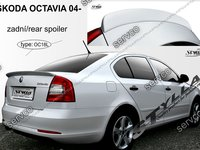 Eleron spoiler tuning sport Skoda Octavia 2 RS Vrs Sedan Hatchback 2004-2013 ver9