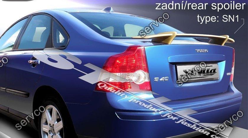 Eleron spoiler tuning sport Volvo S40 R Design T5 D2 D3 D4 2004-2012 ver4