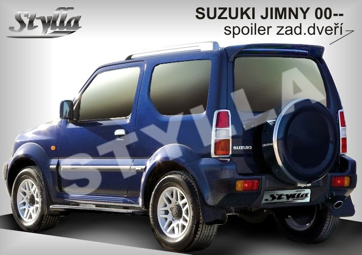 Eleron spoiler tuning Suzuki Jimny 1998-