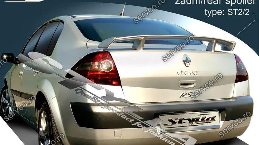 Eleron tuning sport haion portbagaj Renault Megane 2 MK2 Sedan 2003-2009 v4