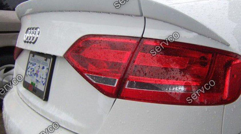 Eleron tuning sport portbagaj Audi A4 B8 8K ABT AB Look RS4 S4 Sline sedan din 3 piese v3