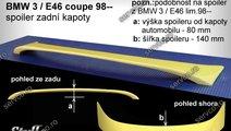 Eleron tuning sport portbagaj BMW Seria 3 E46 Coup...