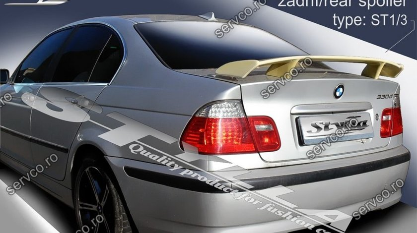 Eleron tuning sport portbagaj BMW Seria 3 E46 Sedan 1998-2005 v5