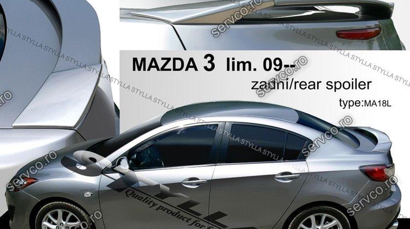 Eleron tuning sport portbagaj Mazda 3 MK 2 Sedan 2009-2013 v1
