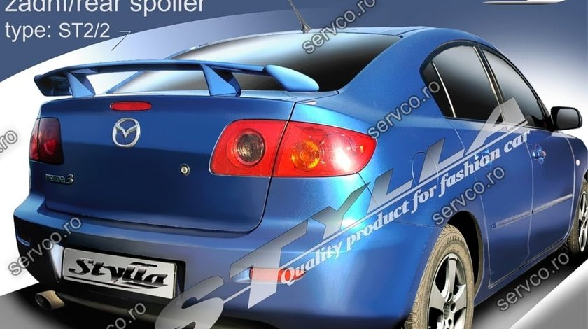 Eleron tuning sport portbagaj Mazda 3 MK1 Sedan 2003-2009 v3