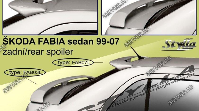 Eleron tuning sport portbagaj Skoda Fabia Mk1 6Y Sedan 1999-2007 v9