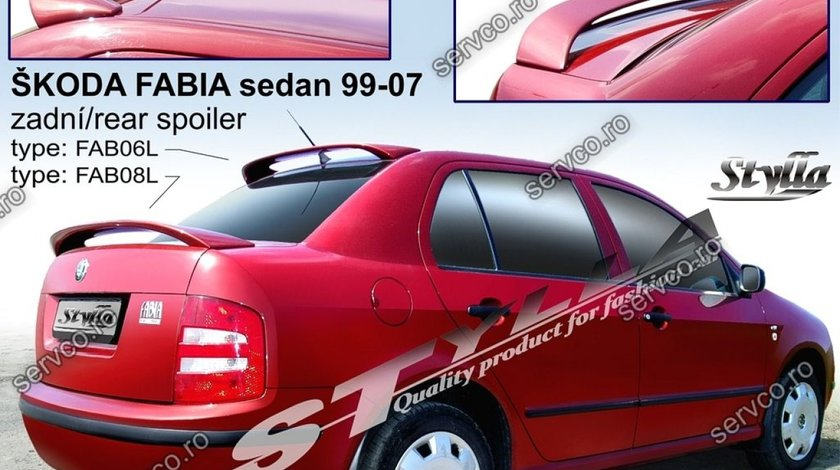Eleron tuning sport portbagaj Skoda Fabia Mk1 6Y Sedan 1999-2007 v10