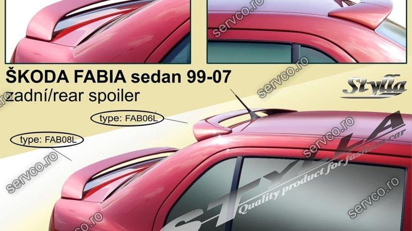 Eleron tuning sport portbagaj Skoda Fabia Mk1 6Y Sedan 1999-2007 v11