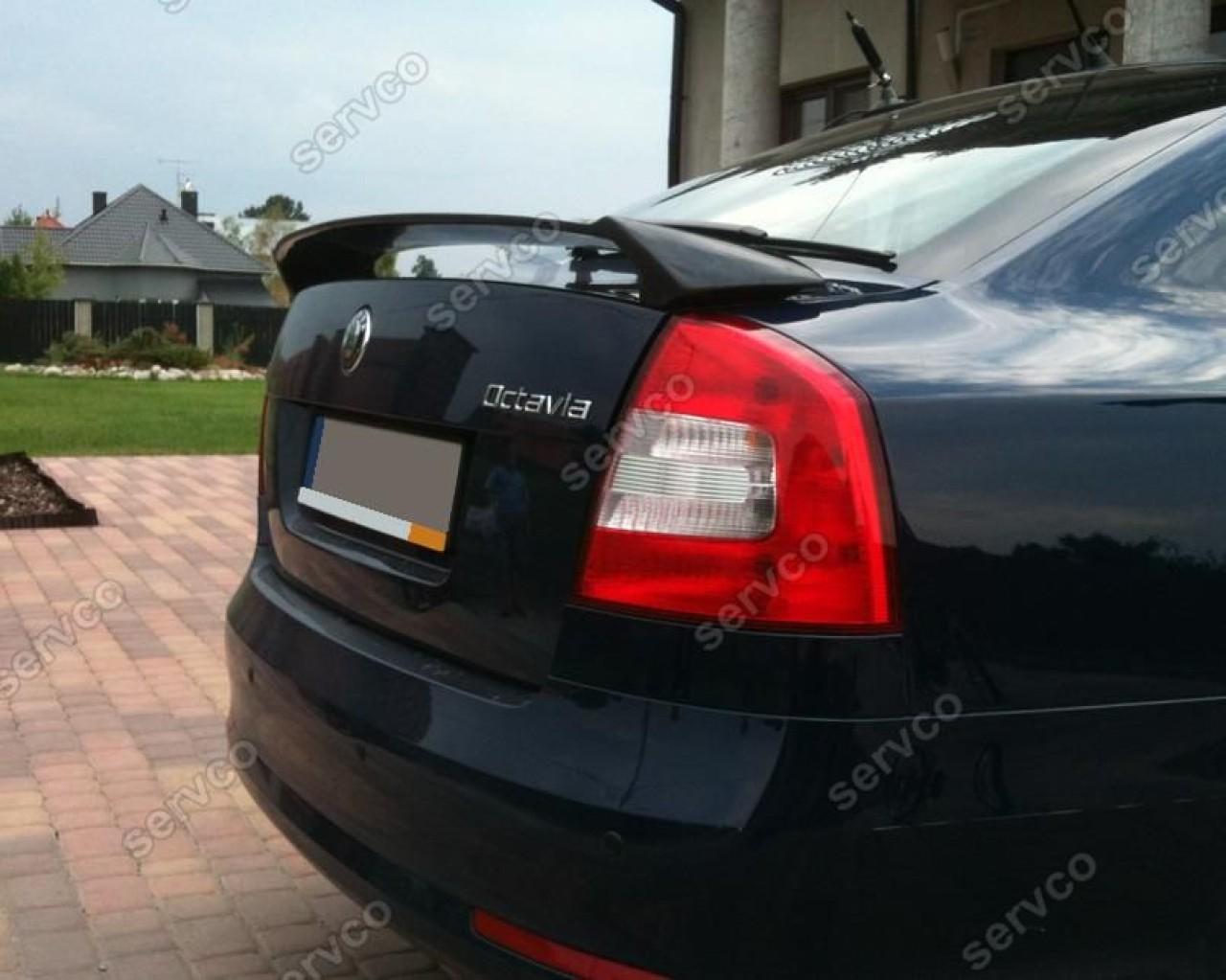 Eleron tuning sport RS portbagaj eleron Skoda Octavia 2 RS Sedan Hatchback 2004-2013 v1