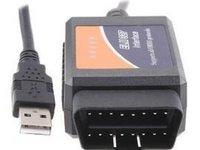 Elm 327 pe cablu Interfata Tester Diagnoza Auto GARANTIE 6 LUNI