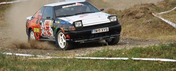 Emanuel Resig a a sarit la Arad cu Toyota Celica!