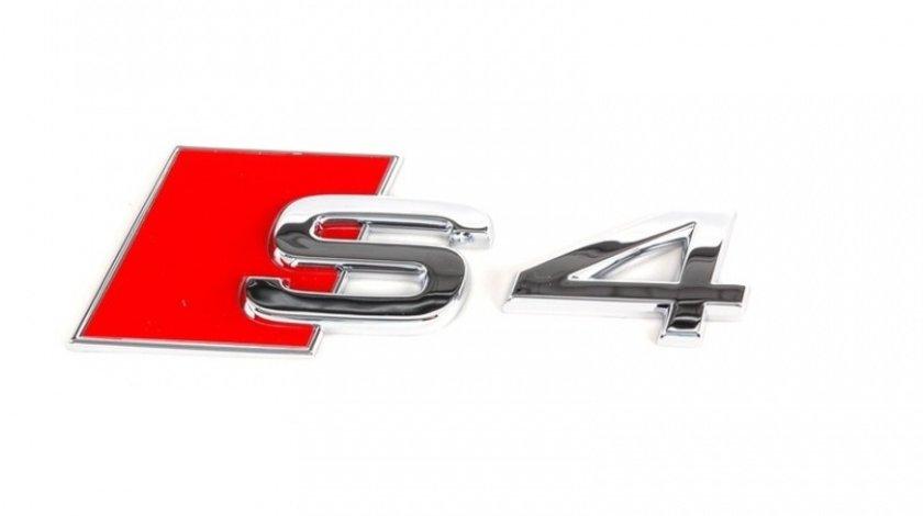 Emblema Audi S4 Crom