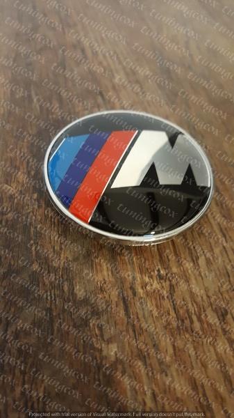 Emblema Bmw cu ///M de capota sau portbagaj